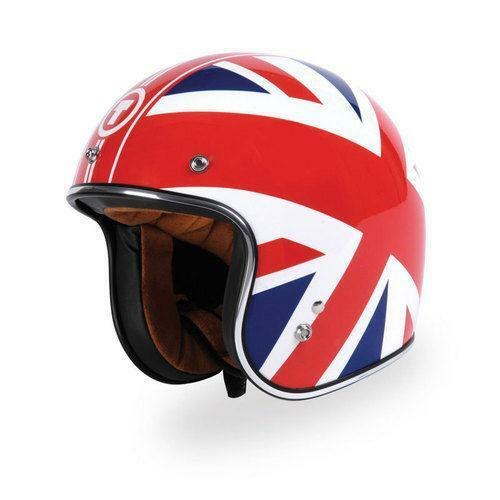 Union jack helmet ebay for Best helmet for motor scooter