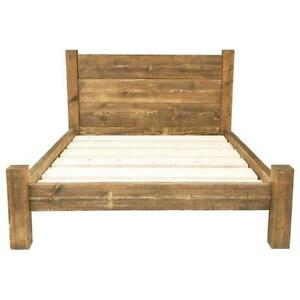 solid pine double beds