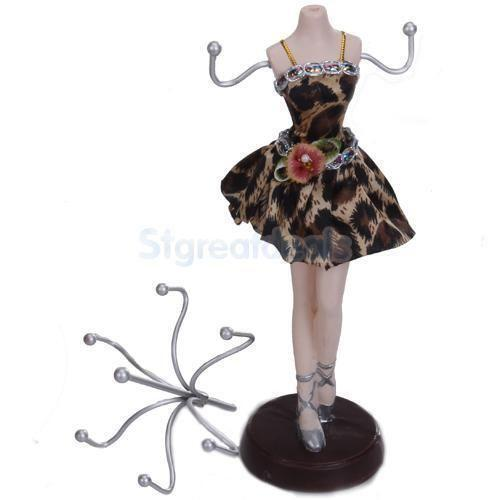 Mannequin jewellery stand ebay for Lady mannequin jewelry holder