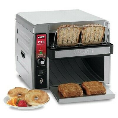 Waring Cts1000 450 Sliceshr Commercial Conveyor Toaster