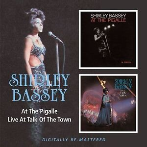 Shirley Bassey At The Pigalle/Live At The Talk Of The Town 2-CD NEW SEALED