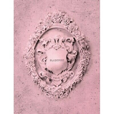 Blackpink-[Kill This Love] 2nd Mini Album Pink CD+Poster(On)+PhotoBook+etc+Gift