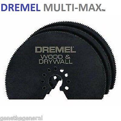 5 New Dremel Multi Max Mm450 3 Wood Dryall Cutting Saw Blades
