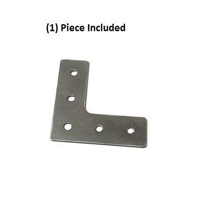 Aluminum 90 Degree Joining Plate L Shape External Mounting Bracket On 8020