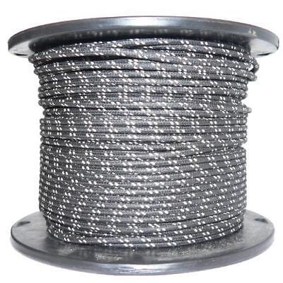 1M Algodón Trenzado Eléctrico Del Automóvil Cable 16 Calibre Negro Blanco Mancha