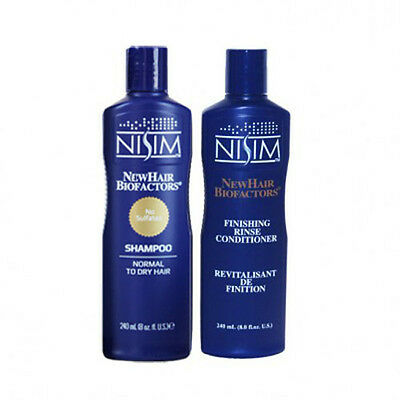 Itchy Scalp Thinning Hair - NISIM THINNING HAIR LOSS SLS-Free SHAMPOO & CONDITIONER MENS WOMENS ITCHY SCALP