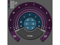 Tony Bennett tickets Royal Albert Hall Row 1 of East Choir