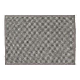 Grey Woven Rug - 140 x 200cm - Brand New
