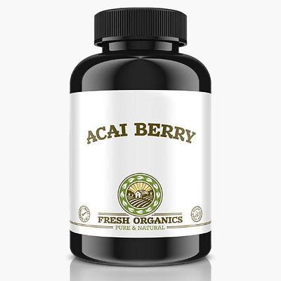 120 Tabletten Slim Acai Berry-6000 Hollywood Diät Fatburner - No Kapseln Vegan