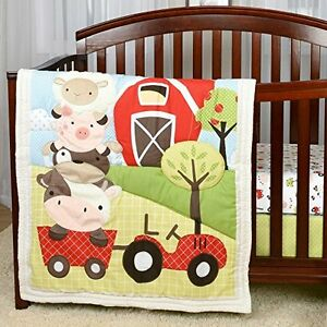 Farm Crib Bedding And Wall Decals