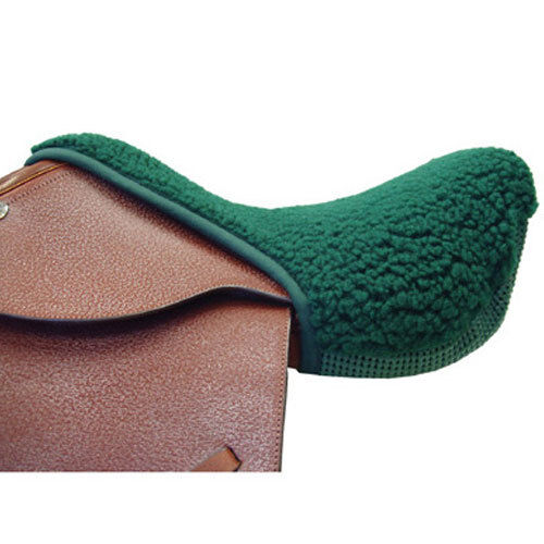 NEW Non Slip Fleece Seat Saver - English Standard - Green