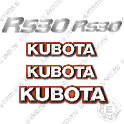 Kubota Svl R 530 Decals Skid Steer Replacement Decals R-530 R530