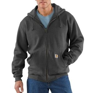 Carhartt K185 Men's Heavyweight Hooded Zip-Front Sweatshirt