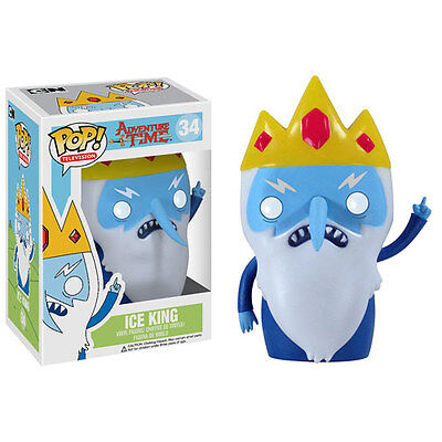 Funko Pop 2014 Television Adventure Time Ice King  34 Figure W  Case In Stock