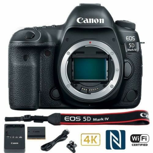 Canon EOS 5D Mark IV DSLR Camera (Body Only) 1483C002