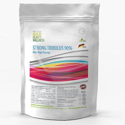 500 Tabeltten TRIBULUS TERRESTRIS 90 % Saponin Testosteron Booster Muskelaufbau