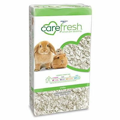 carefresh 99% Dust-Free White Natural Paper Small Pet Bedding with Odor Control,