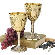 Brass Wine Goblets