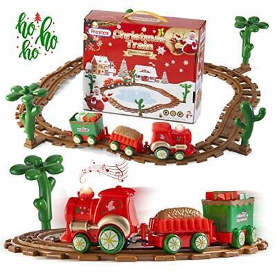 Kids Christmas Train Around The Tree Musical Christmas Train Set for Kids