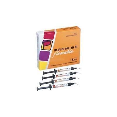 Kerr Dental 33373 Premise Flowable Composite Syringes Kit 1.7 Gm 4pk A2