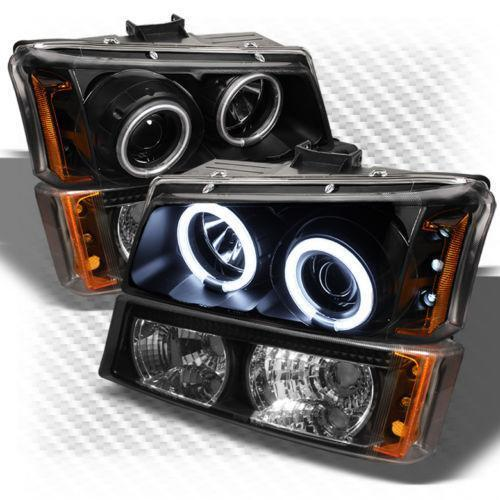 chevy avalanche halo headlights ebay. Black Bedroom Furniture Sets. Home Design Ideas