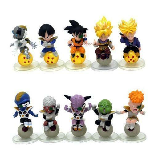 Dragon Ball Z Toys : Dragon ball z mini figures ebay