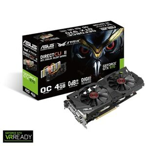 Video Gaming Card - Asus Strix GTX970