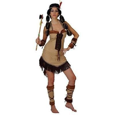 Pocahontas Dress Up (Indian princess Pocahontas Dress up Hen costume fancy dress)