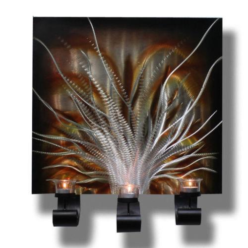 wandkerzenhalter gold kerzenst nder teelichthalter ebay. Black Bedroom Furniture Sets. Home Design Ideas
