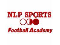 NLP Sports Football Academy U6 and U7 football trials & talent ID day East London, Newham