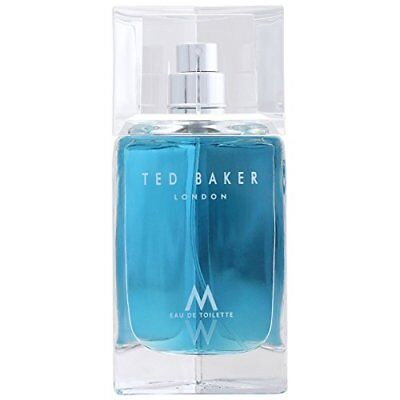 TED BAKER LONDON M 75ML EAU DE TOILETTE SPRAY BRAND NEW & SEALED NEW PACAKING