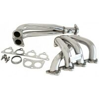 HEADERS EXHAUST MANIFOLD STAINLESS CIVIC D16 D15 88-00 NEW KIT