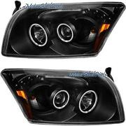 Dodge Caliber Halo Headlights