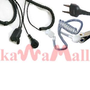 Acoustic-tube-Ear-PTT-Mic-for-COBRA-ICOM-MAXON-Radio