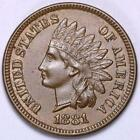 1881 Indian Head Penny