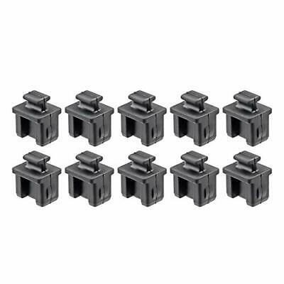 TOPPROS Pack of 10 SFP Silicone Protectors Cap Port Cover Anti Dust 0.55 x 0....