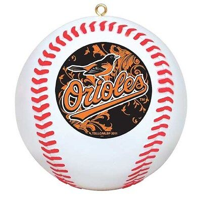 Baltimore Orioles MLB Officially Licensed Mini Replica Baseball Ornament, 3