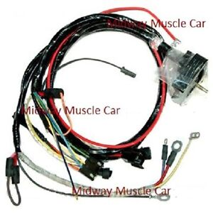 engine wiring harness 70 chevy corvette 454 350 396 vette w auto image is loading engine wiring harness 70 chevy corvette 454 350