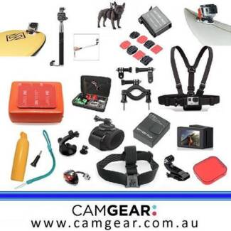 GoPro Accessories and Gear - From $5 - Brand New - CamGear Sydney City Inner Sydney Preview