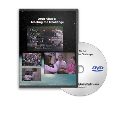 Drug Abuse Causes Treatment &amp Prevention Research War on Drugs DVD C49