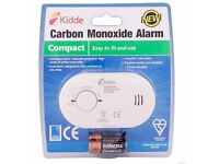 KIDDE LIFESAVER CARBON MONOXIDE CO ALARM DETECTOR HOUSE FLAT ROOM BEDROOM COMPACT DIY BNIB NEW £9