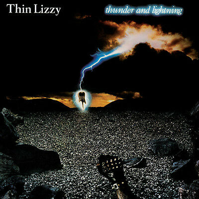 Thin Lizzy - Thunder & Lightning [New Vinyl] Gatefold LP Jacket, Ltd Ed, 180 Gra