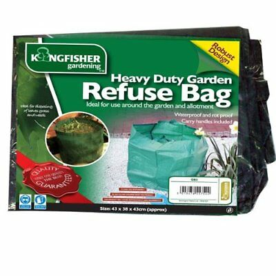 HEAVY DUTY GARDEN REFUSE BAG GARDEN WASTE BAG GREEN - GB2