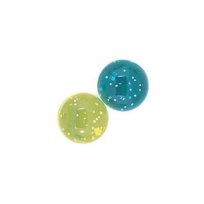 B-WARE: Glitzer-Flummi Bouncing Balls Bälle Party Kinder Mitgebsel Spaß 11Stück