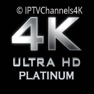 IPTV Subscription with 4K channels, VODs, PVR, Catch-up TV