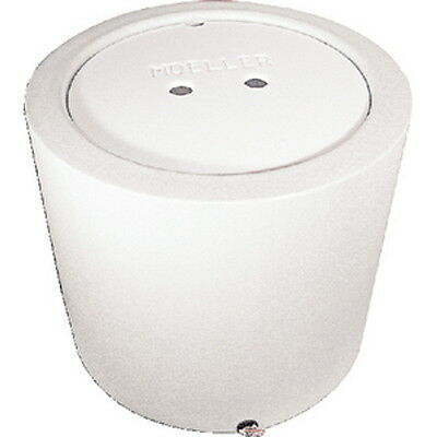 White 23 Gallon Round Livewell or Bait Tank for Boats