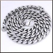 Stainless Steel Cuban Chain