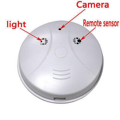 Wireless HD 1080P Spy Smoke Detector Hidden Camera Motion Detect DVR Camra