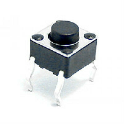 10 Pcs Momentary Tactile Push Button Switch Pcb 6x6mm X 5mm. Usa Seller