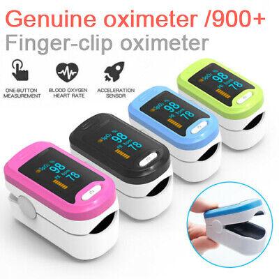 Fingertip pulse SpO2 Oximeter Blood Oxygen Saturation Meter Finger PR Monitor UK